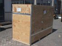 crated motorcycle shipping